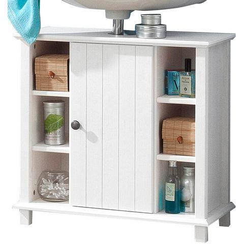 kast Vili met 1 deur witte badkamer wastafelonderkast 26