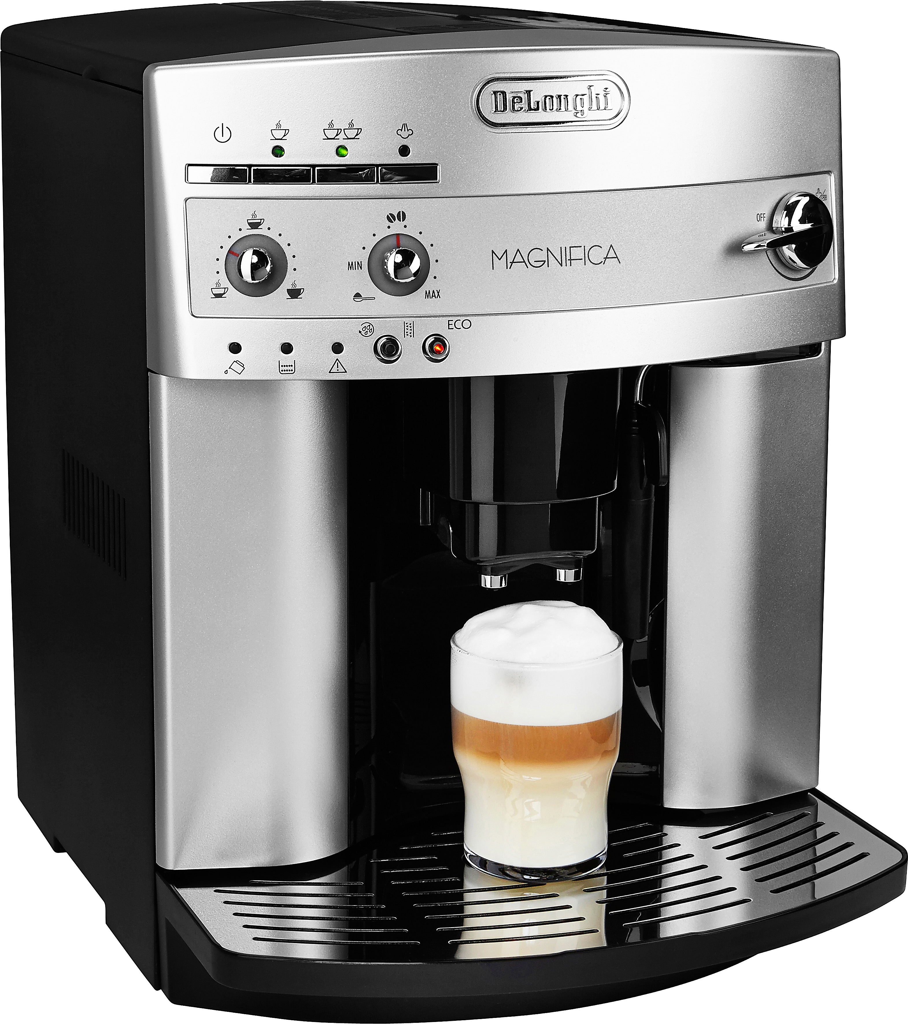 De'longhi Volautomatisch espresso-apparaat, DeLonghi, 'ESAM 3000 Magnifica Eleganza' veilig op otto.nl kopen