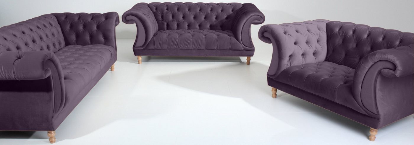 MAX WINZER® Chesterfield-zithoek Isabelle 3-delig