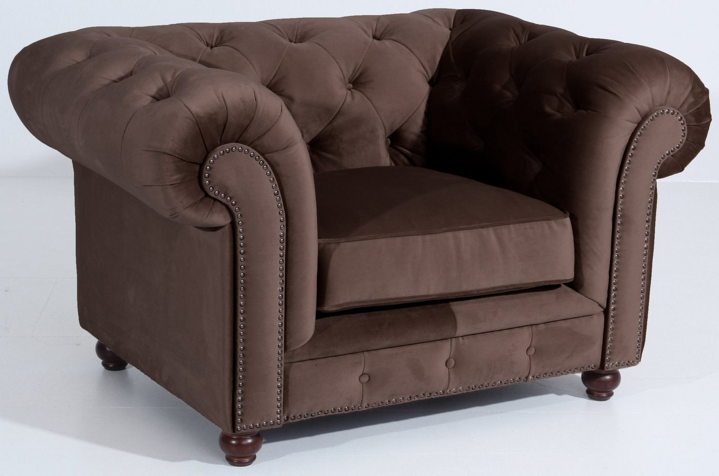 MAX WINZER® Chesterfield-fauteuil Old Engeland