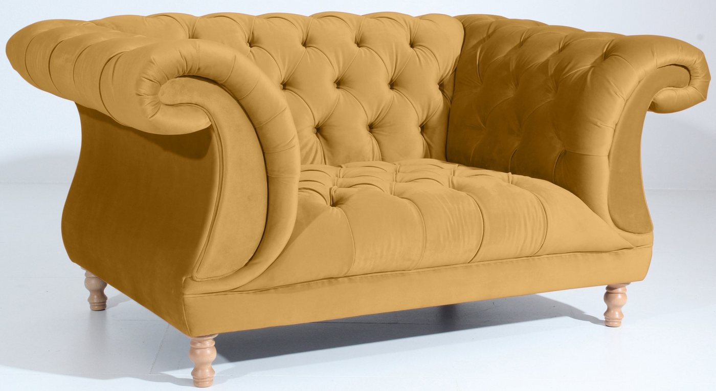 MAX WINZER® Chesterfield-fauteuil Isabelle