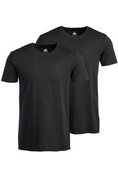 john devin t-shirt 1+1 gratis zwart