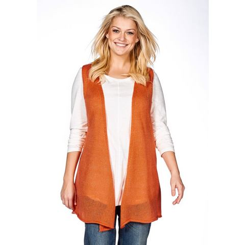 SHEEGO CASUAL Gilet met strikbandjes