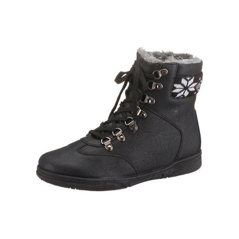 CITY WALK Hoge schoenen met vetersluiting