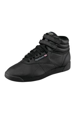 reebok classic sneakers freestyle hi zwart