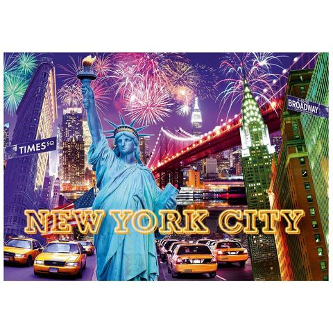 Ravensburger Color Starline Vrolijk GeKleurd New York 1200