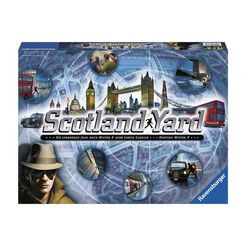 detective-spel scotland yard ravensburger multicolor