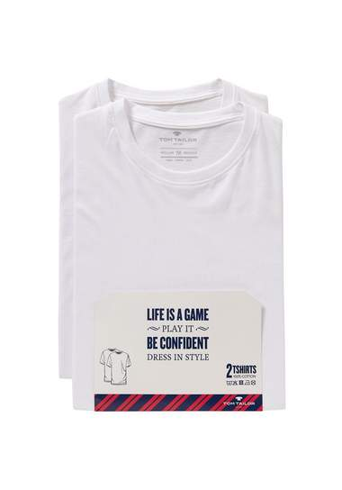 TOM TAILOR T-shirt double pack crew-neck