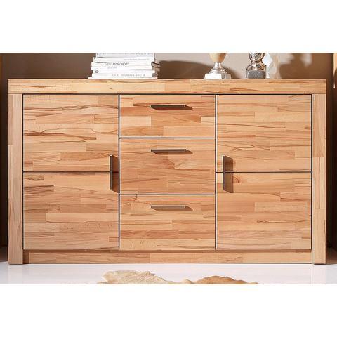 Dressoirs Sideboard met front van massief hout 785164