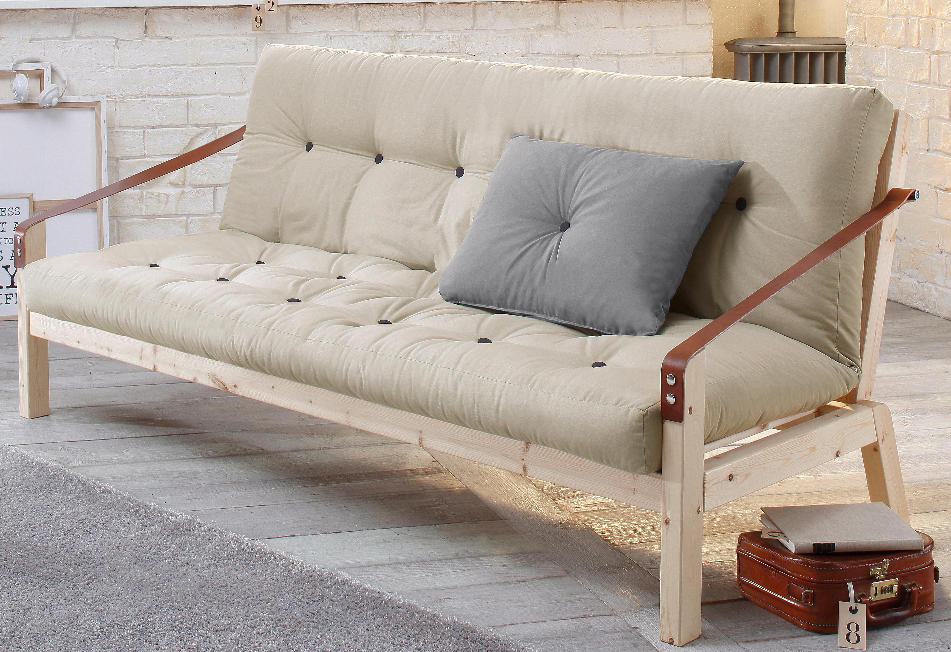 Karup bedbank met capitonnage in de online winkel otto for Schlafsofa otto