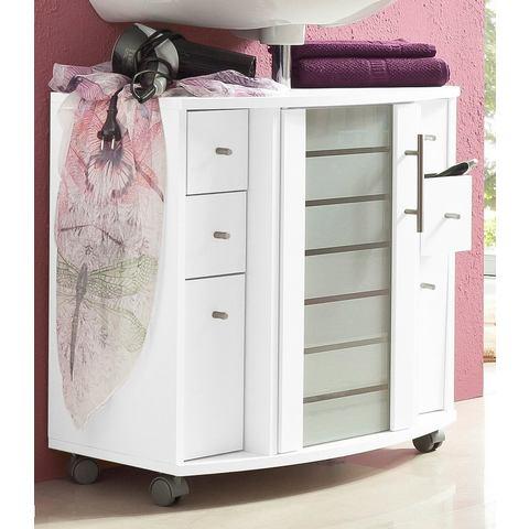 SCHILDMEYER Wastafelkast Nikosia witte badkamer wastafelonderkast 11