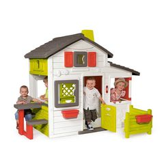 smoby speelhuis friends huis multicolor
