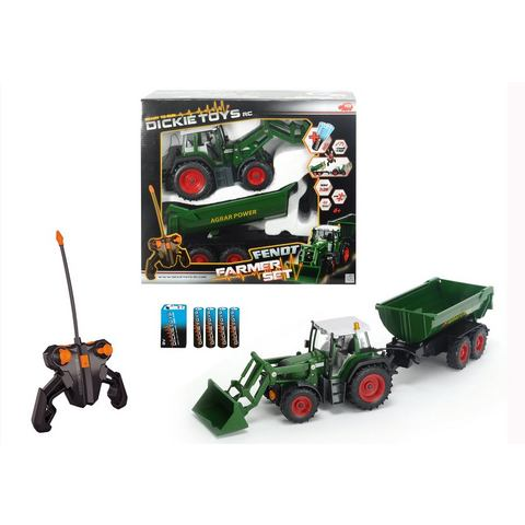 DICKIE TOYS RC-tractor Farmer Set