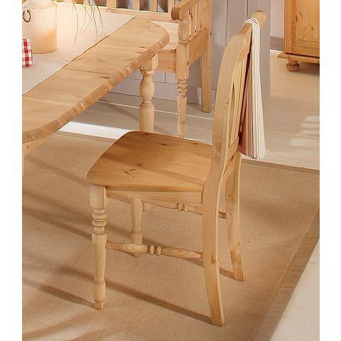 Massief houten stoel 'serie Jutland', Marla