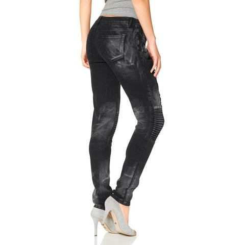 LAURA SCOTT Skinny-jeans in 4-pocketsstijl