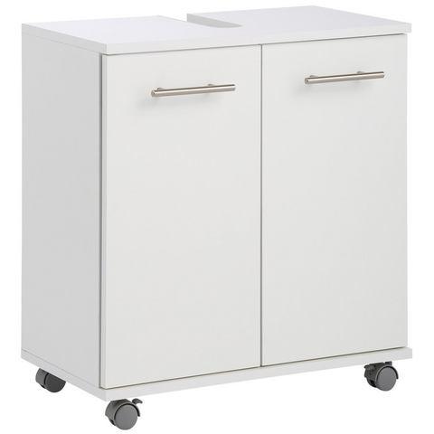 SCHILDMEYER kast Emmi met plank witte badkamer wastafelonderkast 25