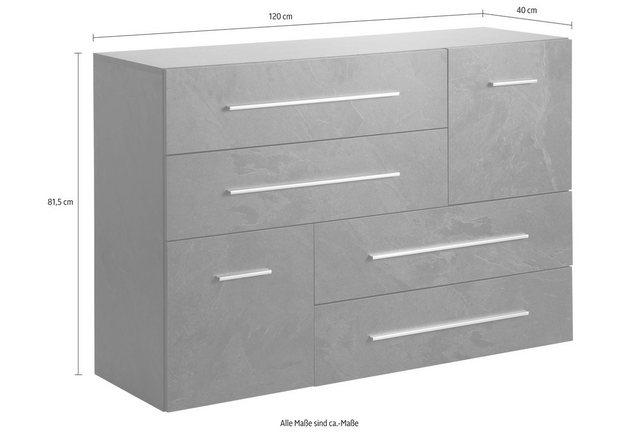 Kast lissabon breedte 120 cm online shop otto - Te sluiten kast push pull ...