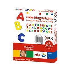 roba magneet magnetische letters (31 stuks) blauw