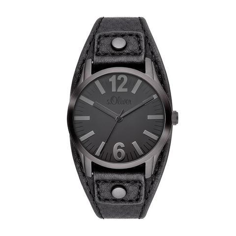 s.Oliver Horloge Zwart