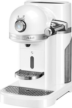 KitchenAid Nespresso Koffiecapsulemachine 5KES0503EFP, frosted pearl