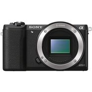 sony alpha ilce-5100b body systeemcamera, 24,3 megapixel, 7,5 cm (3 inch) display zwart