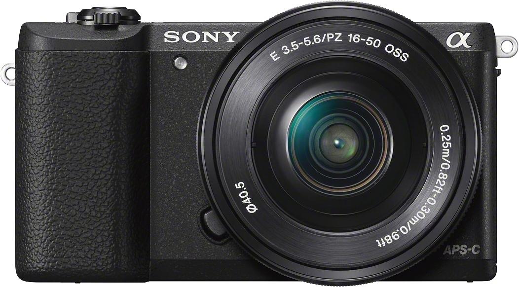 SONY Alpha ILCE-5100L Systeemcamera, SEL-P1650 Zoom, 24,3 Megapixel, 7,5 cm (3 inch) Display in de webshop van OTTO kopen