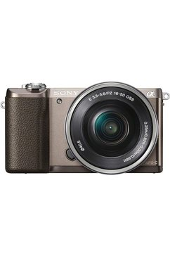 Alpha ILCE-5100L Systeemcamera, SEL-P1650 Zoom, 24,3 Megapixel, 7,5 cm (3 inch) Display