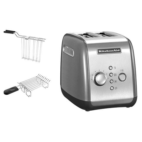 KITCHENAID Toaster voor 2 sneden brood 1100 watt