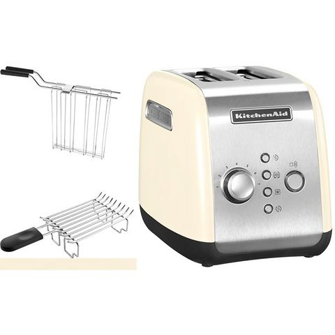 KITCHENAID Toaster 1100 W in crèmekleur