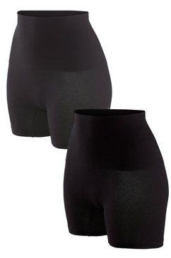 petite fleur bodyforming-pants in set van 2 zwart