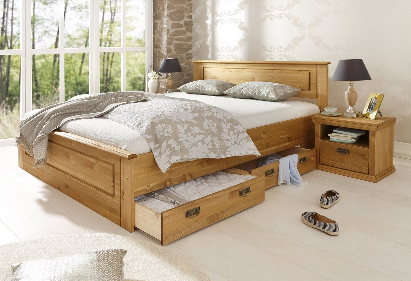 HOME AFFAIRE Bed Madrid