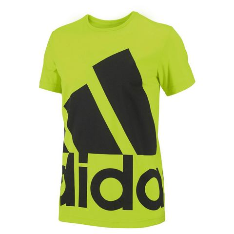 ADIDAS PERFORMANCE T-shirt met XXL-logoprint