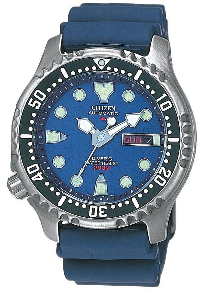 CITIZEN automatisch horloge »NY0040-17LE«