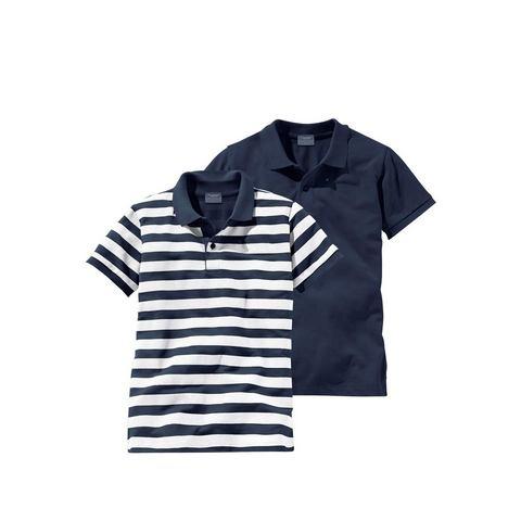 ARIZONA Poloshirt in set van 2 voor jongens