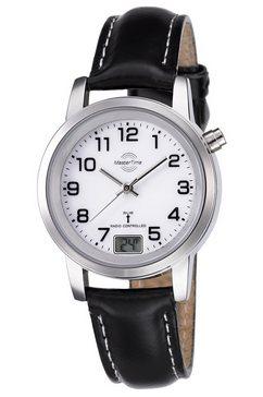 master time radiografisch horloge mtla-10295-12l incl. batterij met lange levensduur zwart