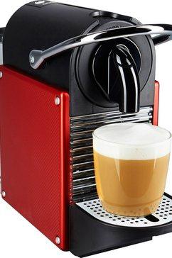 De'Longhi Nespresso Koffiecapsulemachine Pixie EN 125, karmijnrood