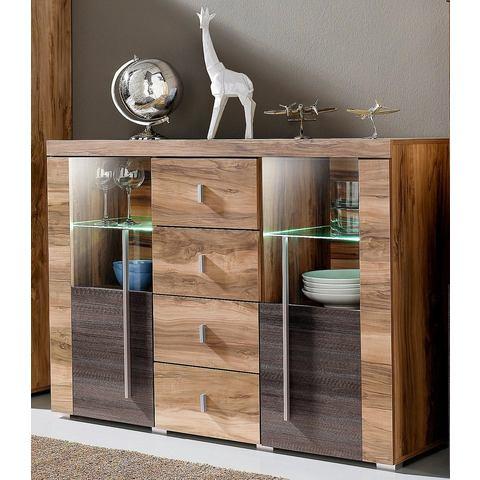 Dressoirs Sideboard van 132 cm breed met 4 laden 695340