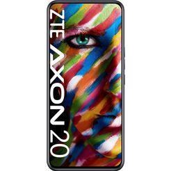 zte axon 20 smartphone (17,58 cm - 6,92 inch, 128 gb, 64 mp camera) zwart