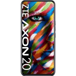 zte smartphone axon 20, 128 gb zwart