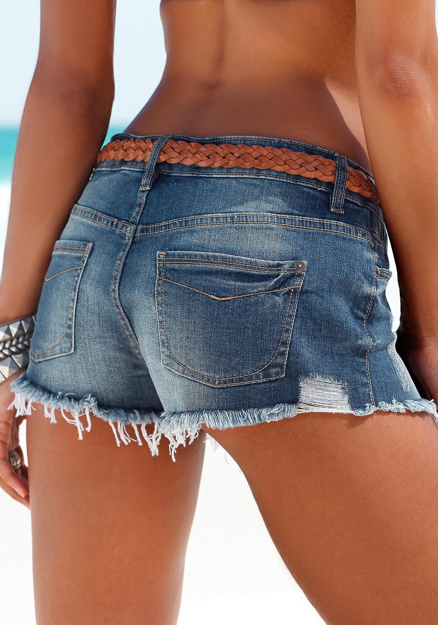 OTTO BUFFALO LONDON Jeans-hotpants in 5-pocketsstijl