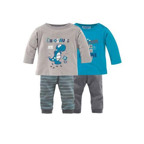 KLITZEKLEIN T-shirt en broek in 4-delige set