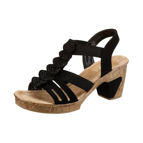 RIEKER Sandaaltjes met voering van kunststof