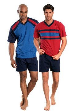 le jogger korte pyjama in set van 2 multicolor