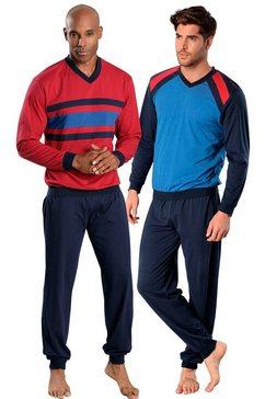 le jogger lange pyjama in set van 2 multicolor