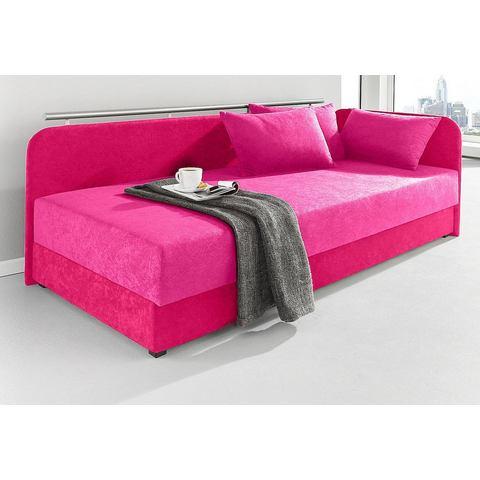 Bed 80x200 cm roze Maintal 655476