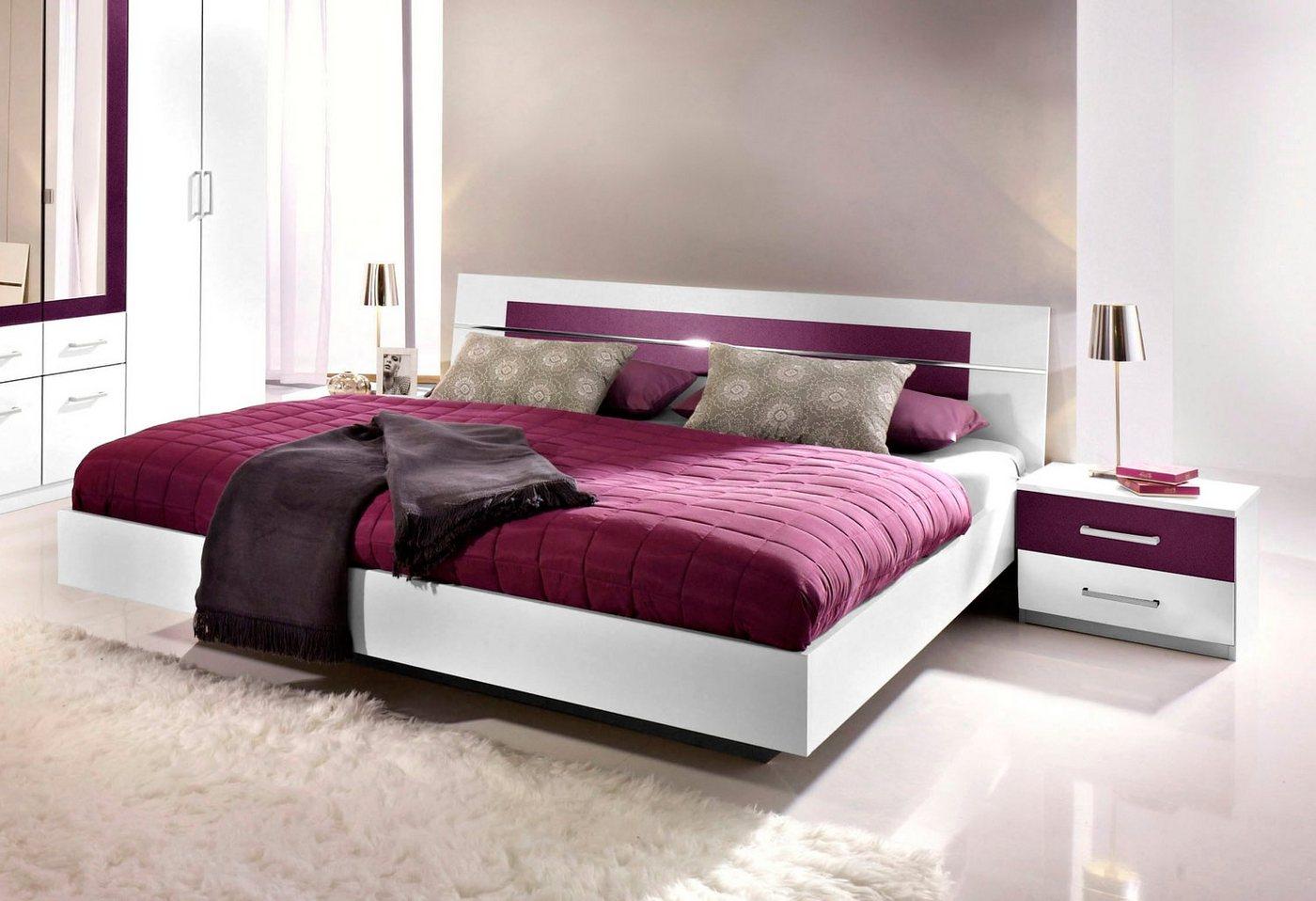Bed incl. 2 bedtafeltjes, Made in Germany