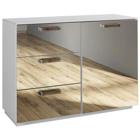 Kasten  vitrinekasten RAUCH kast met laden en deuren breedte 110 cm made in Germany 722278