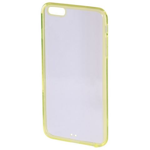Hama Cover frame iPhone 6/6s geel