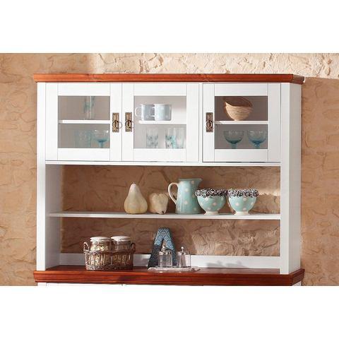 Kasten  vitrinekasten HOME AFFAIRE Opzetdeel voor kast met 3 glasdeuren 894248