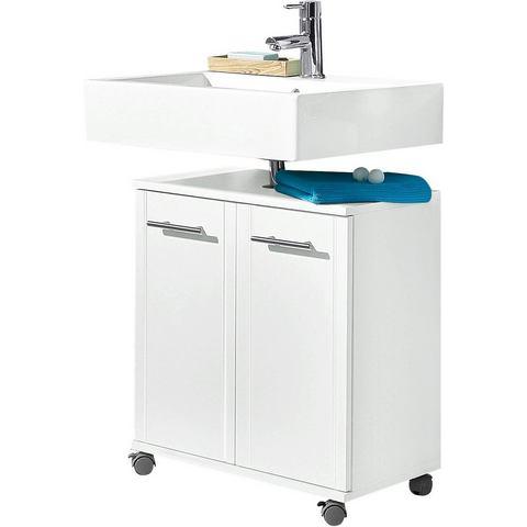 SCHILDMEYER kast Emmi met plank witte badkamer wastafelonderkast 38